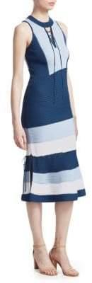 Jonathan Simkhai Ribbed Sleeveless Dress