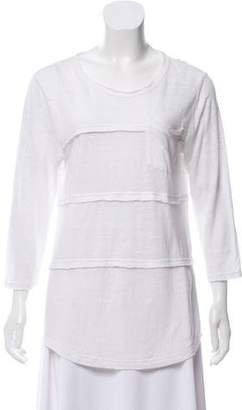 Marc by Marc Jacobs Casual Linen Top