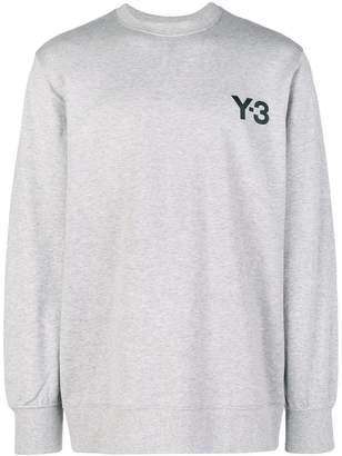 Y-3 printed logo sweatshirt