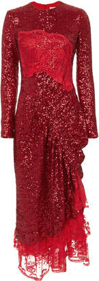Preen by Thornton Bregazzi Mae Red Dress