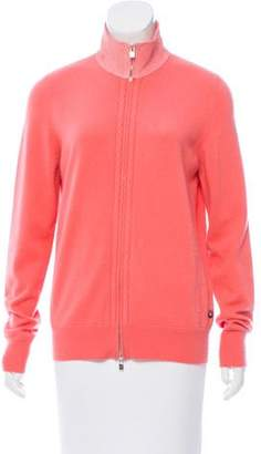 Loro Piana Cashmere Zip-Up Sweater