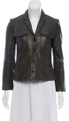 Zadig & Voltaire Tailored Leather Jacket
