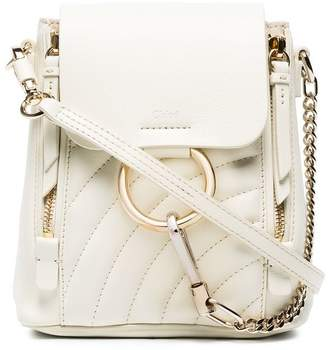 Chloé mini Faye quilted backpack