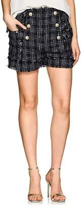 Balmain Women's Tweed Sailor Shorts
