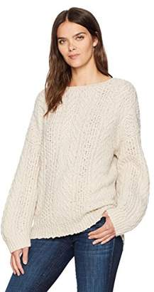 Vince Women's Cable Knit Boatneck