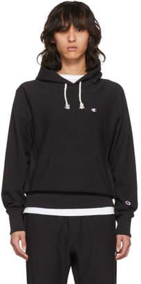 Champion Reverse Weave Black Warm-Up Hoodie