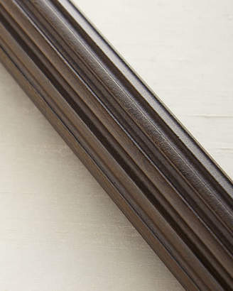 Vince 4'L Fluted Wood Drapery Rod
