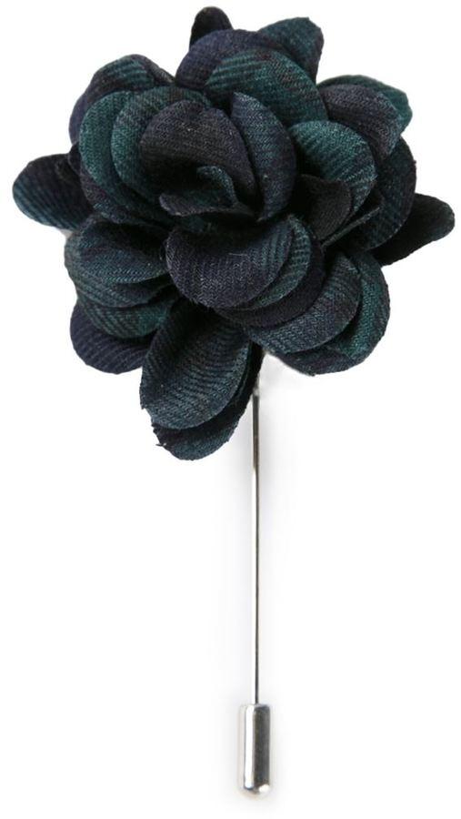 Lanvin rose tie pin