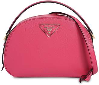 Prada Odette Saffiano Leather Shoulder Bag