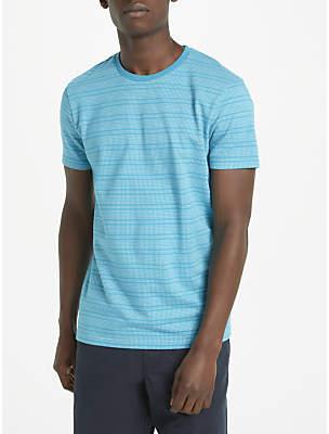 John Lewis Kin by Short Sleeve Dot Stripe T-Shirt