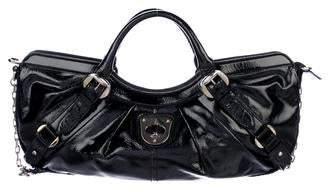 Alexander McQueen Patent Leather Satchel