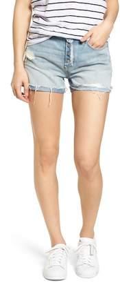 Sanctuary Distressed Fray Hem Rolled Shorts
