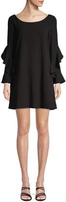 BB Dakota Long-Sleeve Shift Dress