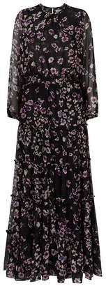 MISA Los Angeles Cesra Split Sleeve Maxi Dress