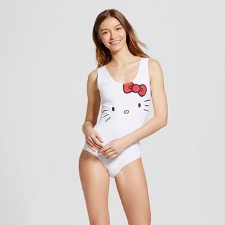 Hello Kitty Women's Hello Kitty Sleep Bodysuit Pajama $12.99 thestylecure.com