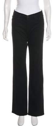 J Brand Wide-Leg Mid-Rise Jeans