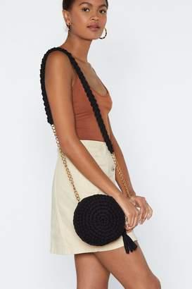 Nasty Gal WANT Weave Got You Crossbody Bag