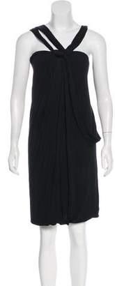 Poleci Sleeveless Knit Mini Dress