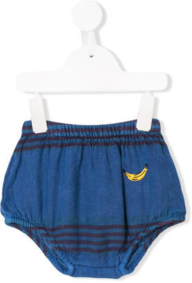 Bobo Choses striped fitted shorts