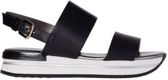 Hogan Slingback Sandals