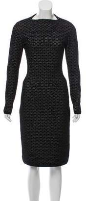 Alaia Virgin Wool Midi Dress