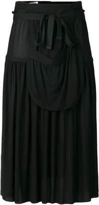 J.W.Anderson hoop skirt with sporran pocket