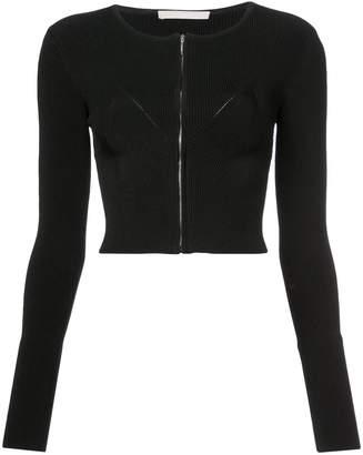 Jason Wu Collection zipped cropped cardigan