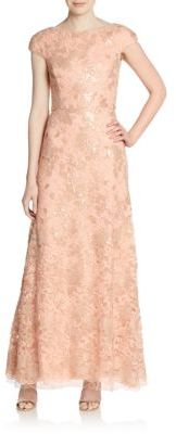 Sequined Lace Gown $348 thestylecure.com