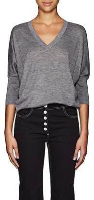Derek Lam Women's Ezme Cashmere-Silk Sweater - Gray