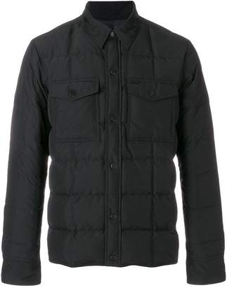 Ami Alexandre Mattiussi Snap-Buttonned Quilted Jacket