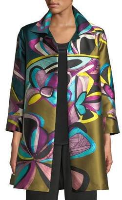 Caroline Rose Dress to Thrill Party Jacket, Plus Size