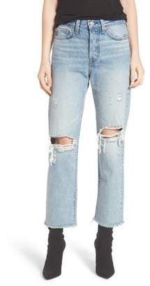 Levi's Wedgie High Waist Straight Jeans