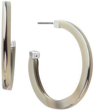Ralph Lauren Acetate Hoop Earrings