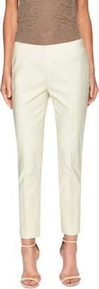 Lafayette 148 New York Women's Stanton Cotton Side Zip Skinny Pant