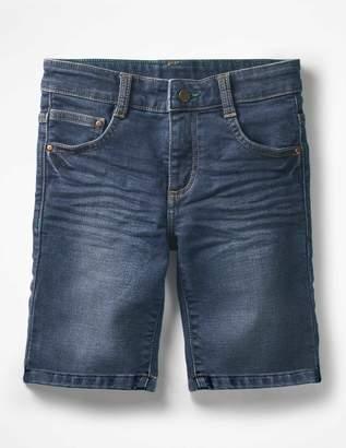 Boden Jersey Denim Shorts