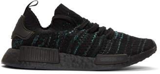adidas Black NMD R1 Parley PK Sneakers