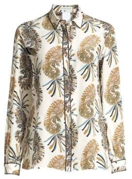 Etro Paisley Silk Button-Down Shirt