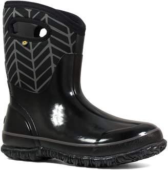 Bogs Classic Mid Badge Waterproof Snow Boot