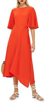 Topshop Cut About Midi Dress