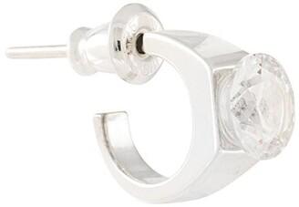 E.m. crystal embellished earring