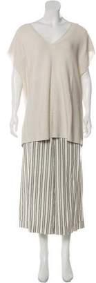 Lafayette 148 Short Sleeve Mid-Rise Pant Sets