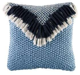 BCBGeneration Fringe Knit Decorative Pillow