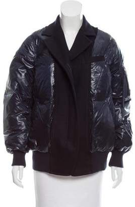 Sacai Luck Wool-Trimmed Down Jacket