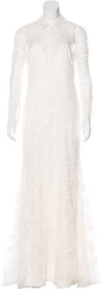 Vera Wang Lace Wedding Gown $1,295 thestylecure.com
