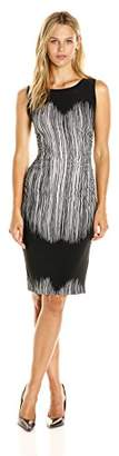 Norma Kamali Women's Sleeveless Waist Dress with Shirred on The Side