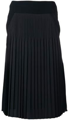 Givenchy mid-length contrast skirt