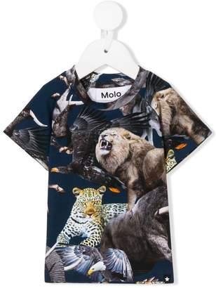 Molo wild animal print T-shirt