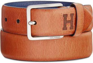 Tommy Hilfiger Men's Logo Dress Belt
