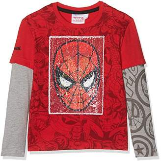 Desigual Boy's TS_NET Long Sleeve Top,(Manufacturer Size: 13/14)