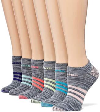 adidas 6 Pair Low Cut Socks - Womens